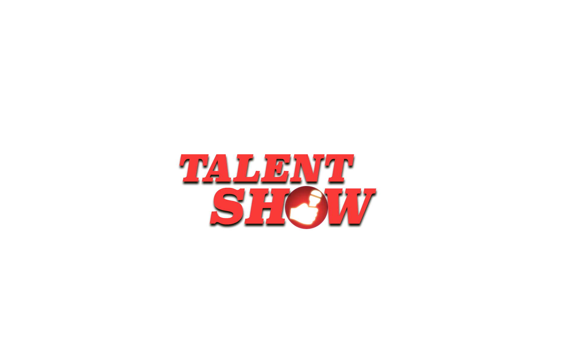 Logo talent show