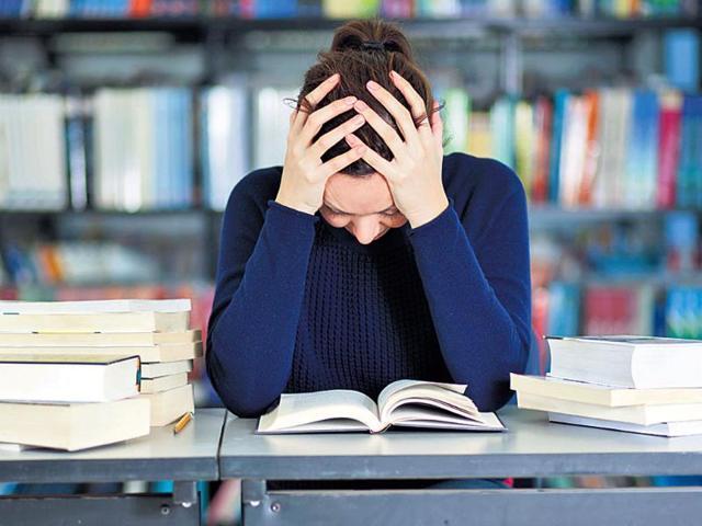 Estrés de examen