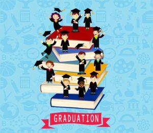 Imagen vectorial graduación