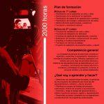 Folleto de Realización de Proyectos Audiovisuales y Espectáculos - interior