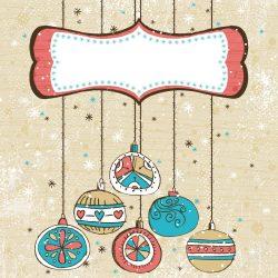 ilustración bolas navidad